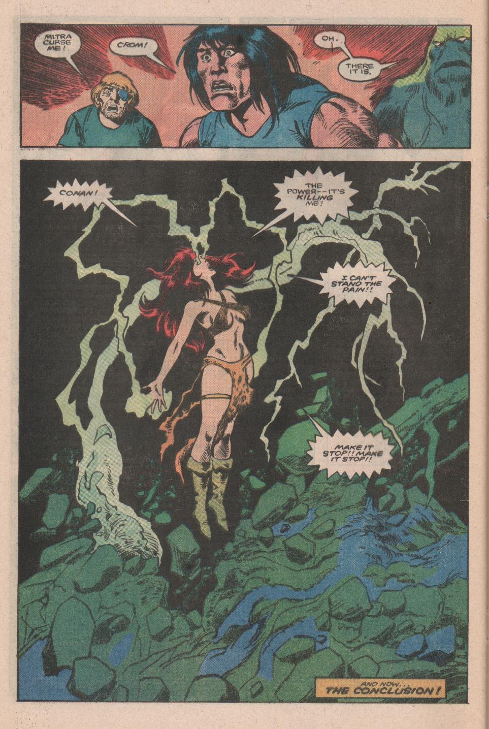 Conan the Barbarian (1970) Issue #177 #189 - English 23