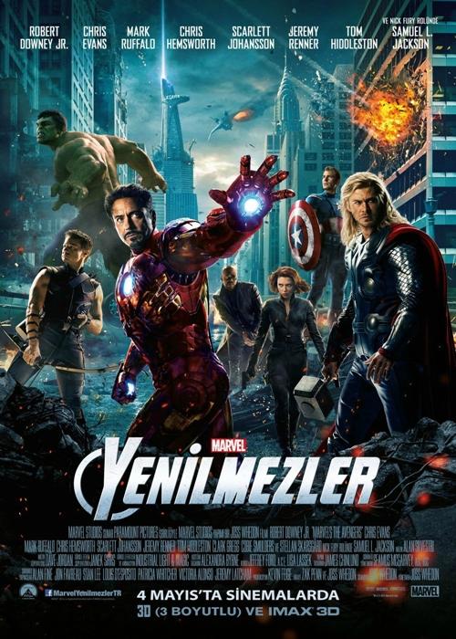 Yenilmezler (2012) 720p Film indir
