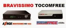 BRAVISSIMO EM TOCOMFREE S928S V3.24 ATUALIZAÇÃO 27-04-2015