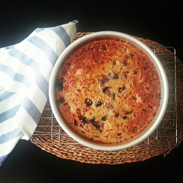Almond + Blueberry Brunch Cake  |  Rituals on *sparklingly  |  http://sparkingly.blogspot.com