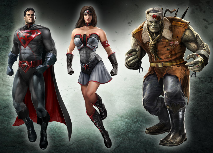 Injustice - Gods among us, RED SON PACK