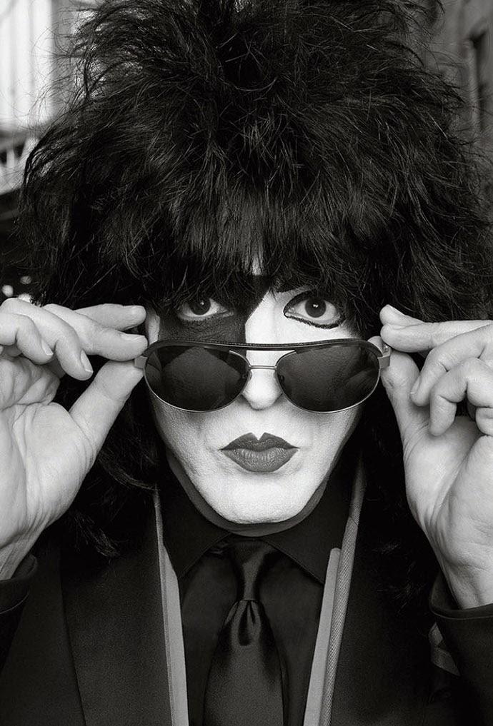 KISS in John Varvatos Eyewear Spring 2014 ad campaign