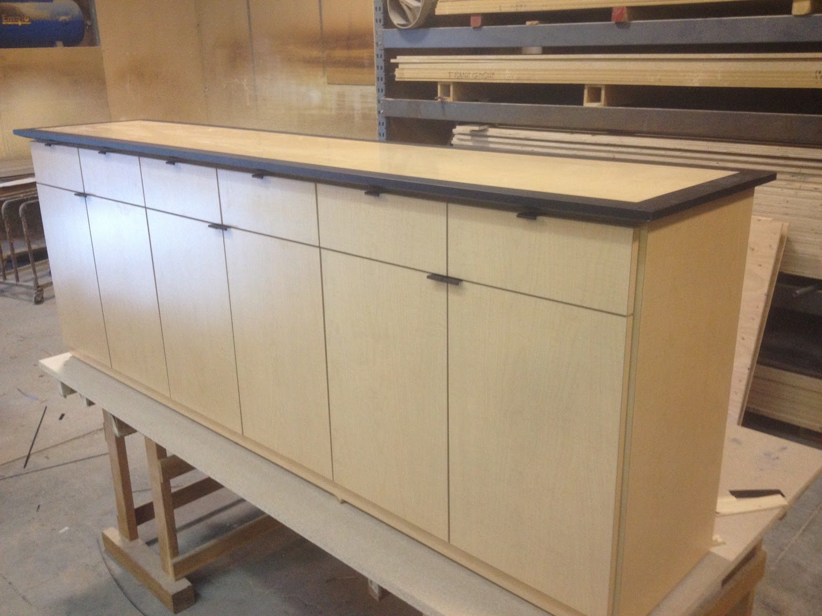 Credenza Conference Room : Custom conference tables: credenza to match room table