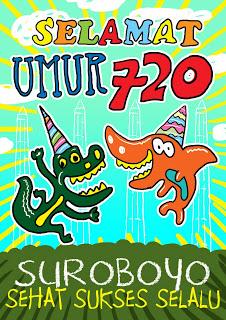 Selamat Ulang Tahun Surabaya 720