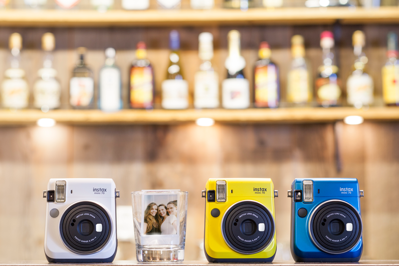 Take party-perfect instant photos with Instax Mini 70