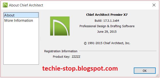 The techie 39 s stop chief architect premier latest v17 3 1 for Architecte 3d ultimate 2015 v17 6 crack