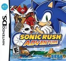 Sonic Rush Adventure para Nintendo DS