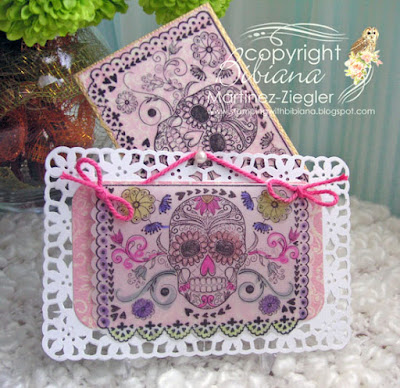 set skull ATC envelope