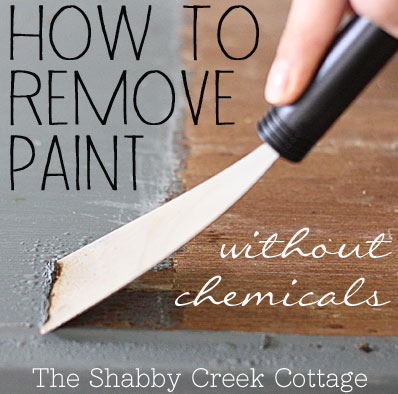 paint removal  how to remove paint  DIY  tutorial  furniture painting   removing. Remove paint from furniture without chemicals  step by step