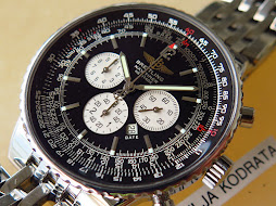 BREITLING NAVITIMER HERITAGE CHRONOGRAPH BLACK DIAL - AUTOMATIC