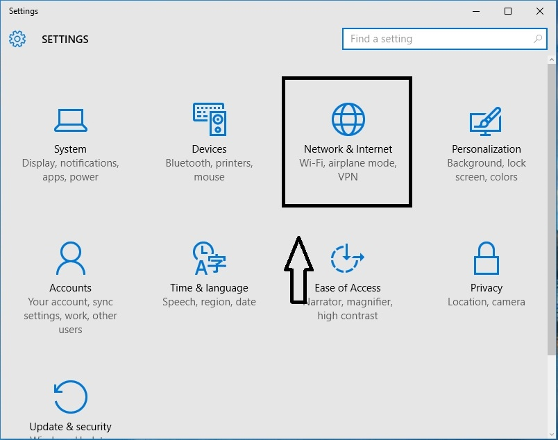 Cara share printer windows 10