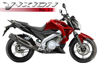 Yamaha New Vixion 2013 Red