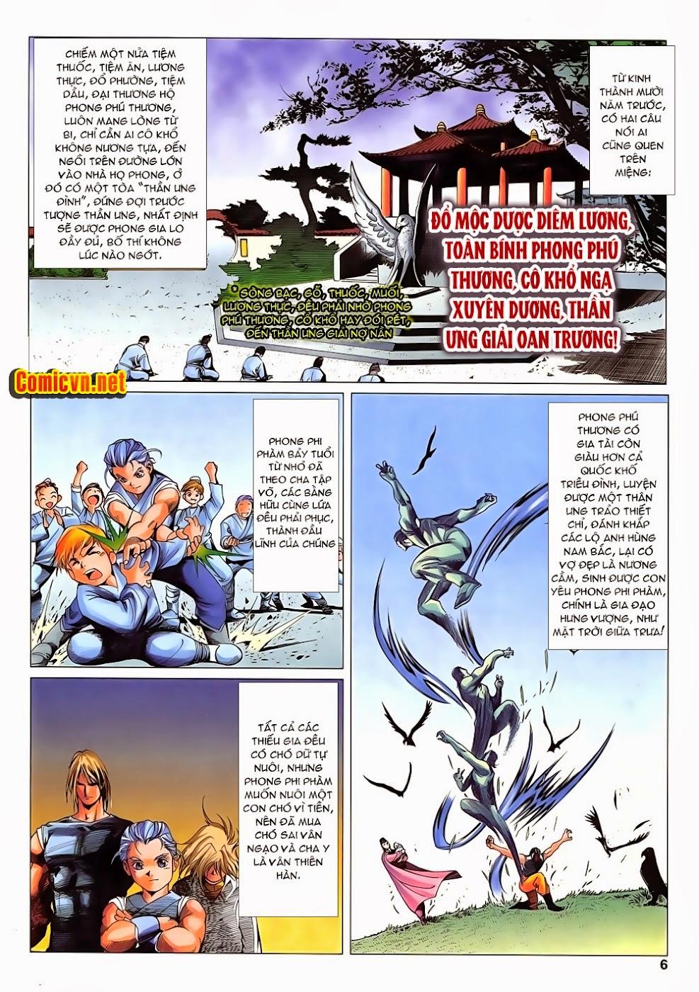 Lục Đạo Thiên Thư chap 14 - Trang 6