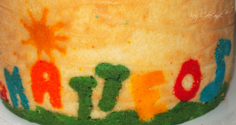 Valy Cake and...: La Joconde Cake ai frutti di bosco e il ...