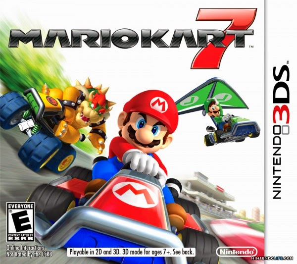 3DS Mario Kart 7 Cover
