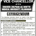 SZAB Medical University, Islamabad Job Offer 2013  For Vice Chancellor