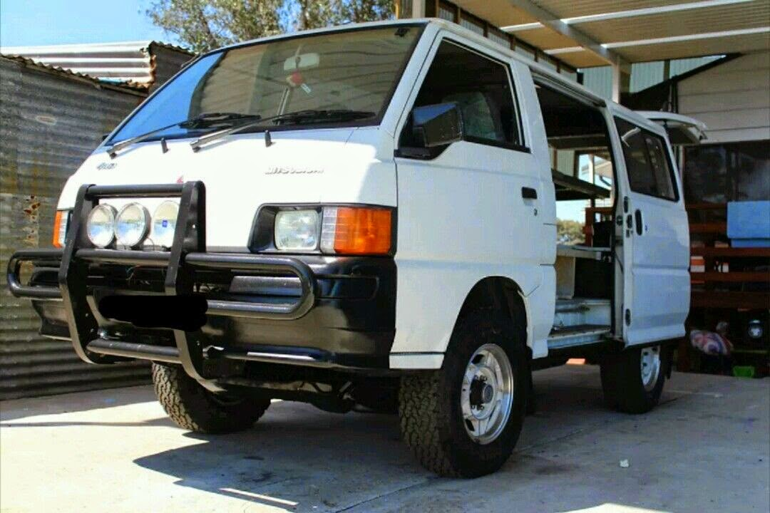 Mitsubishi Delica 4x4 Van for Sale - 4x4 Cars