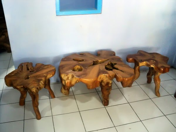 Wooden Skull Chair