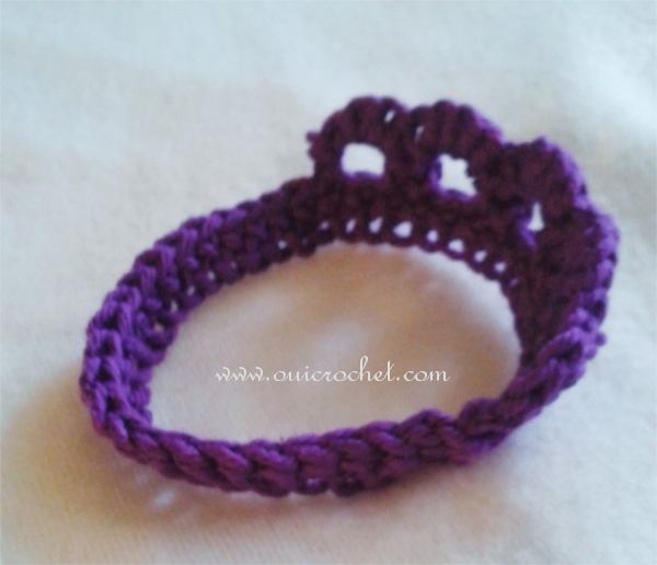 Oui Crochet Preemie Tiara 3 Free Crochet Pattern