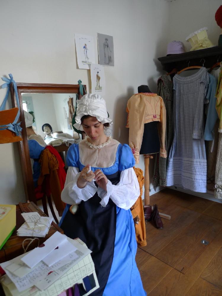 Kleidung um 1800: Mme Bettingers Post: Persönliche Briefe