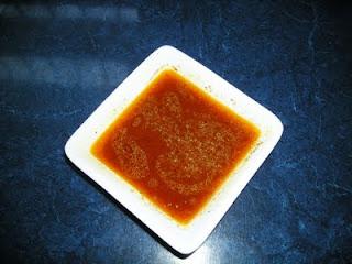 Sauce harissa pour brochettes