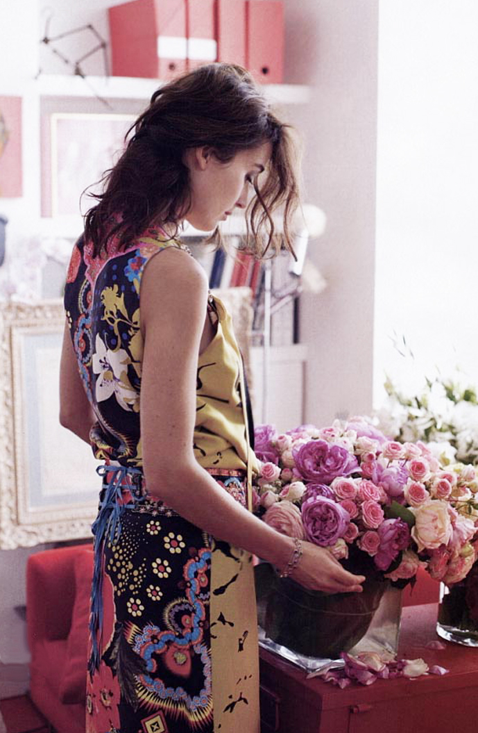 via fashioned by love   Elle US 2006