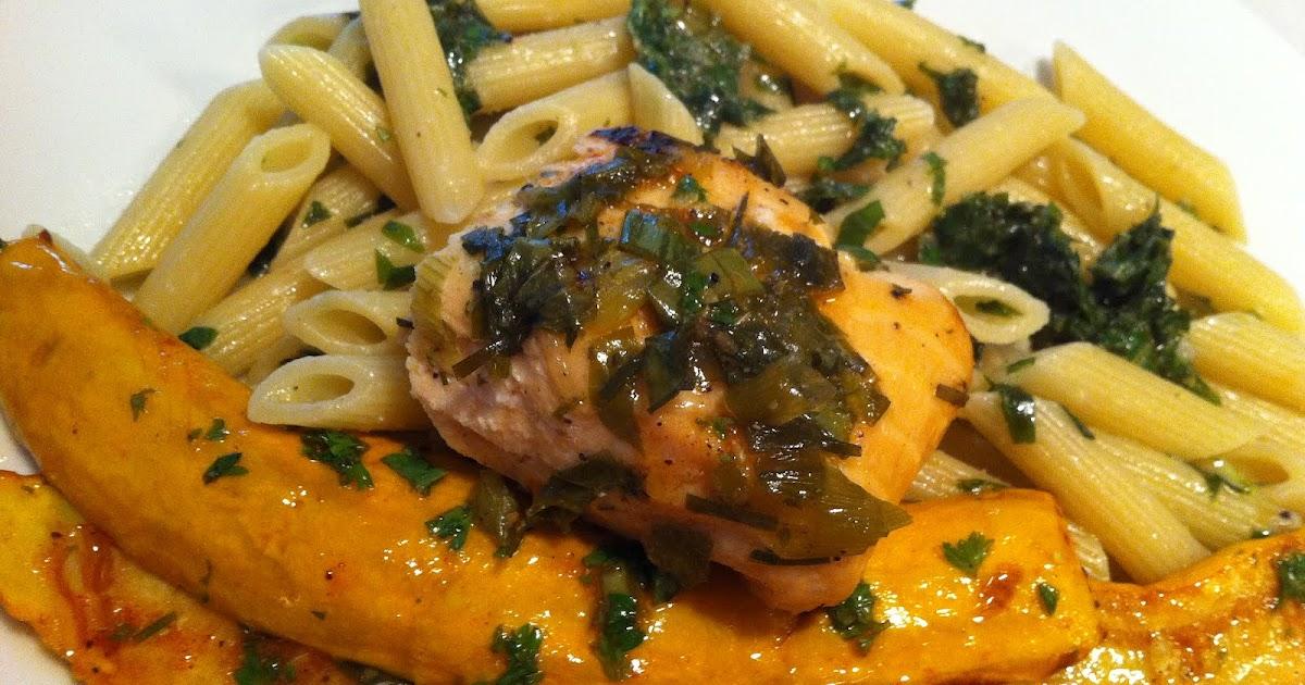 Porc egal saumon au miel et aux herbes en papillote for Saumon en papillote au barbecue