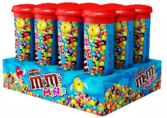 Nuevamente en stock. M&M Mini tubos x 12