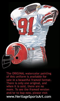 Atlanta Falcons 1988 uniform