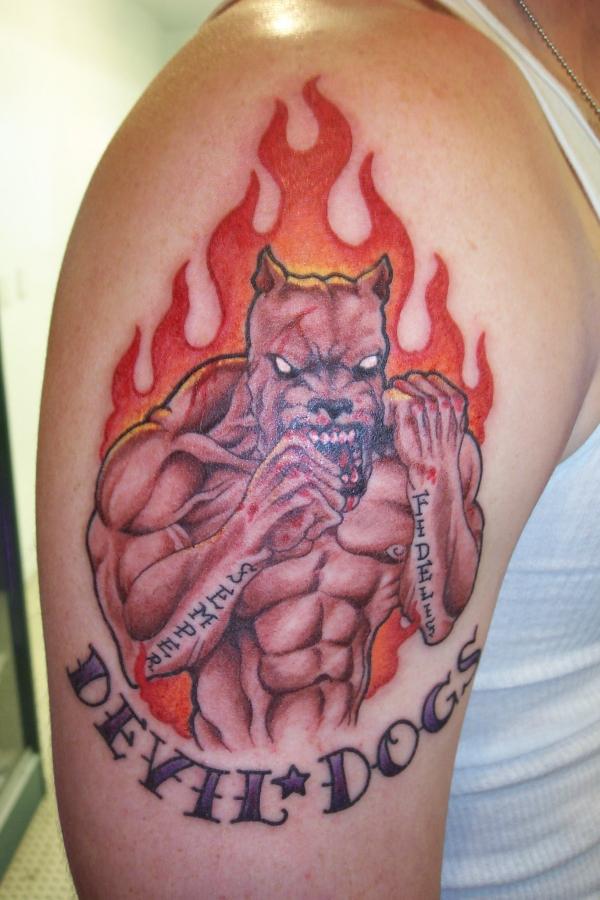 Dreamcatcher Tattoos Designs And Meanings     Dream Catcher The Native    Usmc Bulldog Tattoo