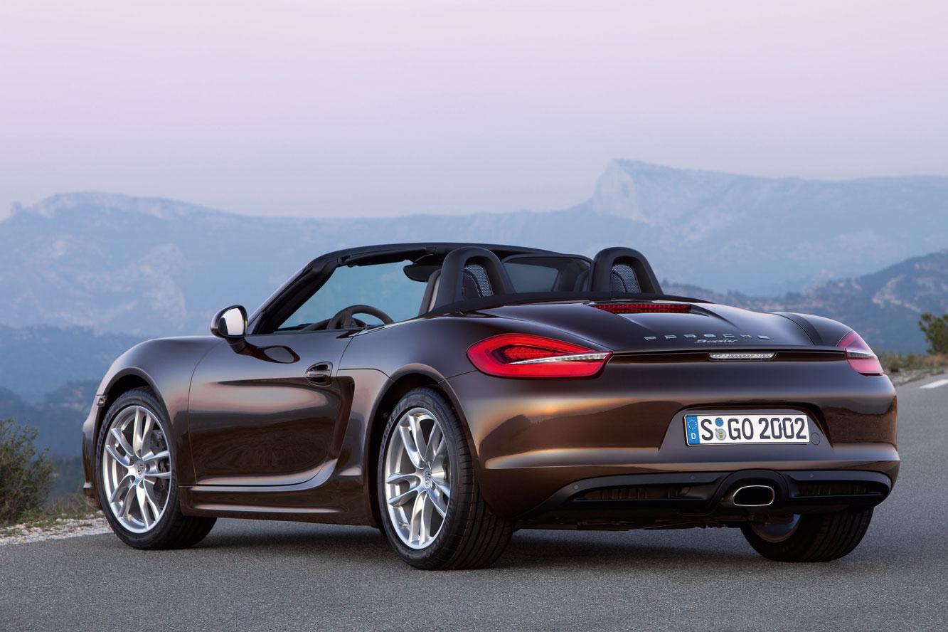 Voitures Et Automobiles La Porsche Boxster 2012