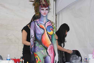 Various body paint color in the Body