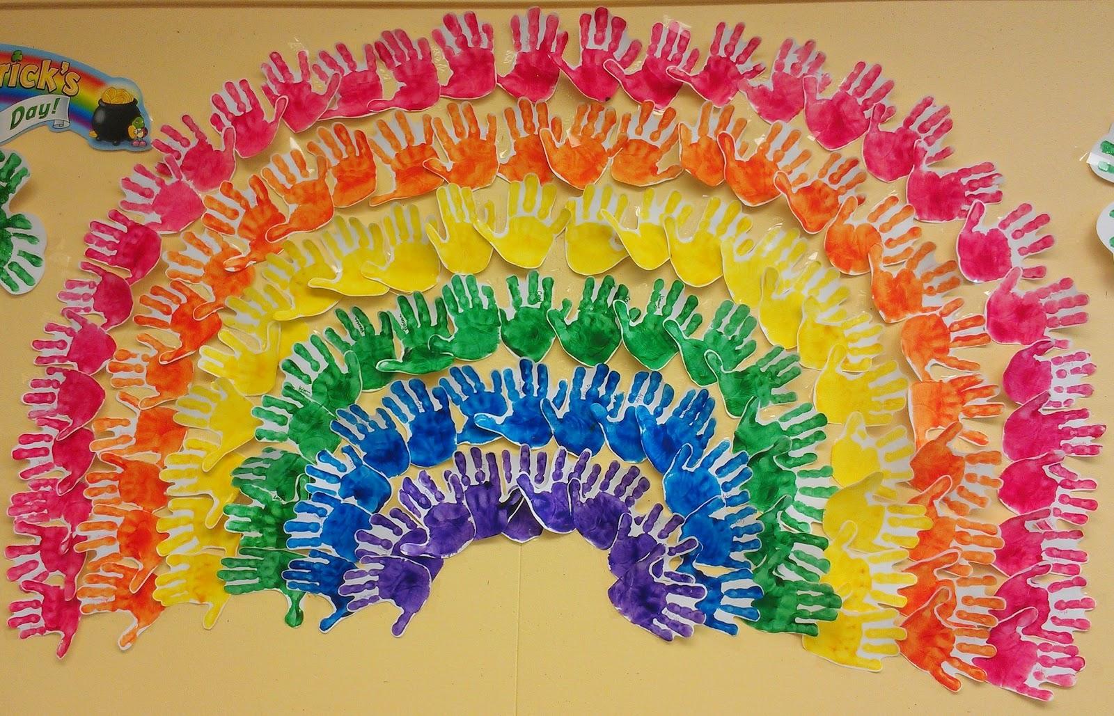 Радуга своими руками для детского сада. Мастер-класс с пошаговыми фото 67