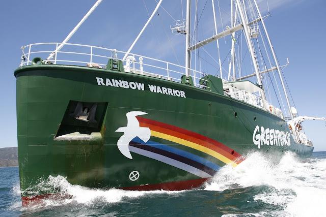 Pelayaran Rainbow Warrior III Usung Perlindungan Laut dan Hutan