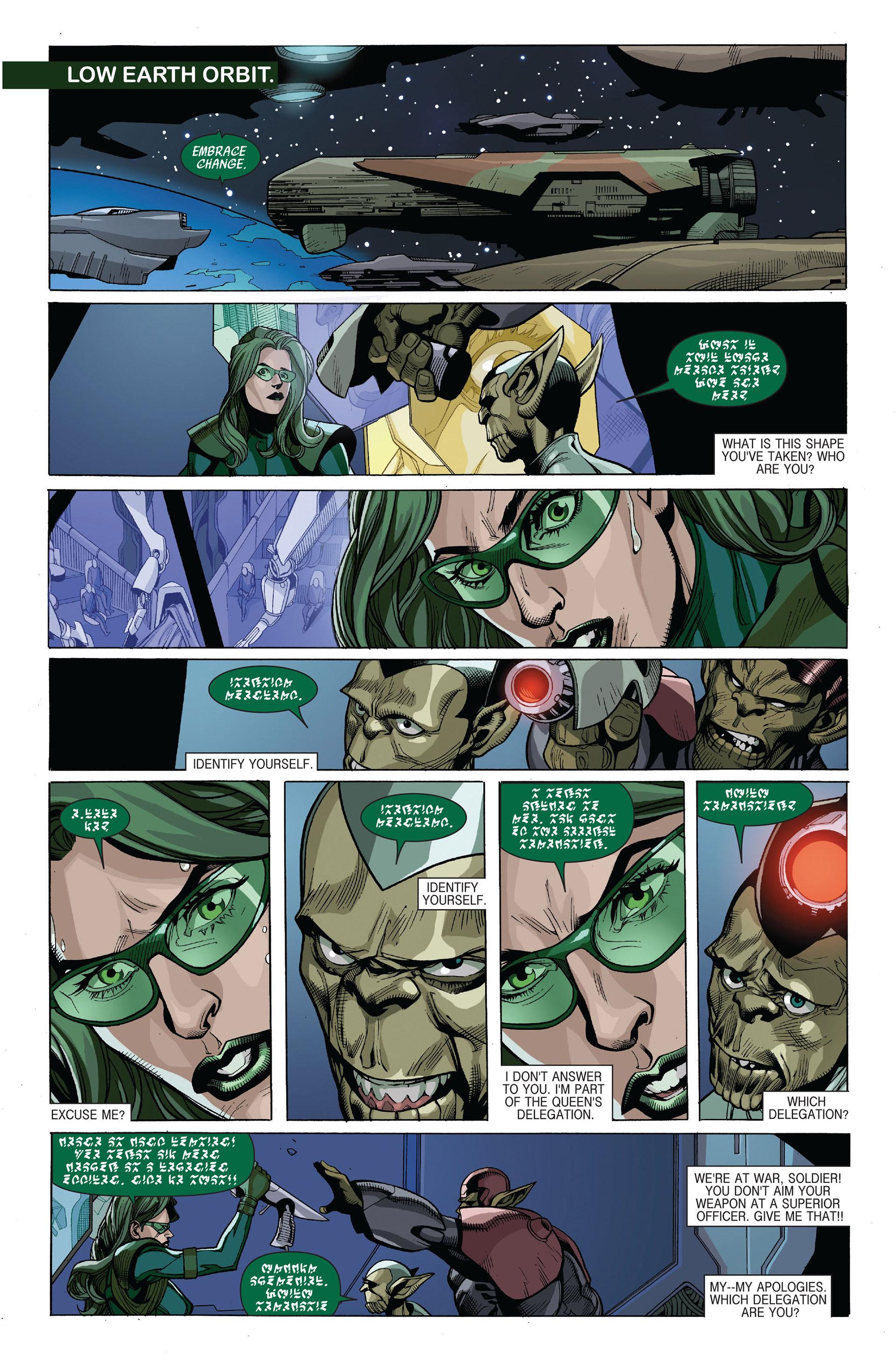 Read online Secret Invasion comic -  Issue #5 - 7