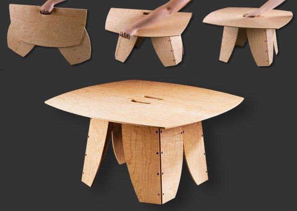 Marzua snappytables mesas plegables y port tiles - Mesas para ordenadores portatiles ...