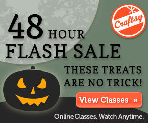http://www.craftsy.com/mlp/Halloween-Flash-Sale-2013?ext=103013_SASFlash&utm_source=Share%20A%20Sale-Share%20A%20Sale%20-%20Special%20Promotion&utm_medium=banner&utm_campaign=Affiliate&SSAID=738841