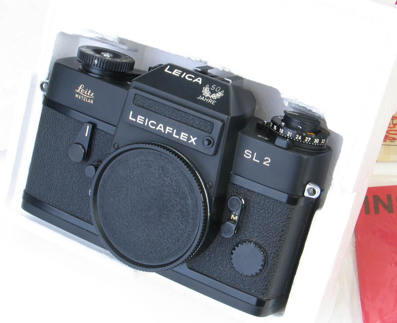 Leica leicaflex sl2 50 jahre anniversary model leicavit for Mobel 50 jahre
