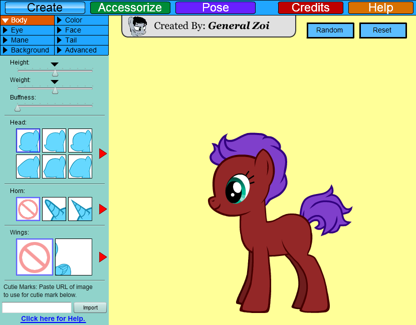 making my little pony games