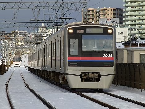 京成押上線 普通 押上行き2 3000形