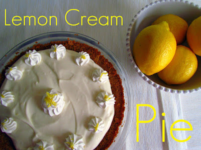 Recipe: Lemon cream pie