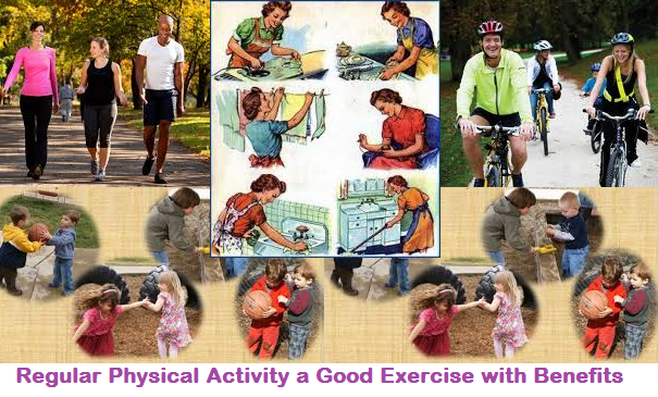 Regular Physical Activity a Good Exercise with Benefits.