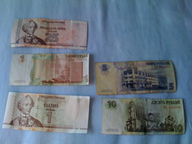leus transnistrio, moneda de transnistria