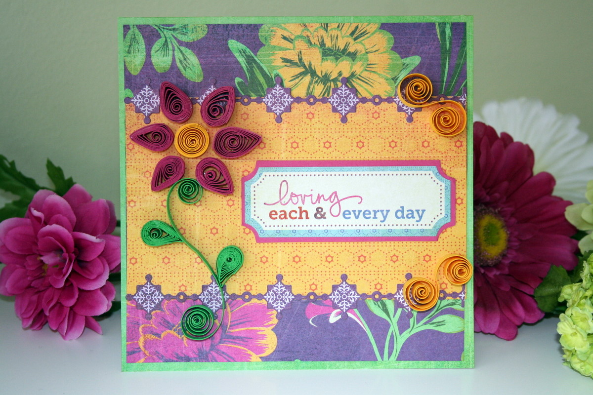 Oh My Crafts Blog Quilled Flower Tutorial