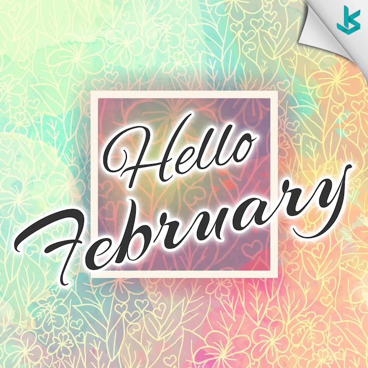 Gambar Vector - Gambar Ucapan Selamat Datang Bulan Februari