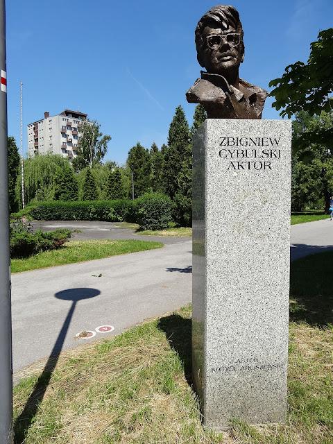 Ikona polskiego kina Zbyszek Cybulski w Alei Sław