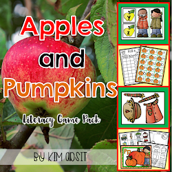 Apples & Pumpkins Literacy Games