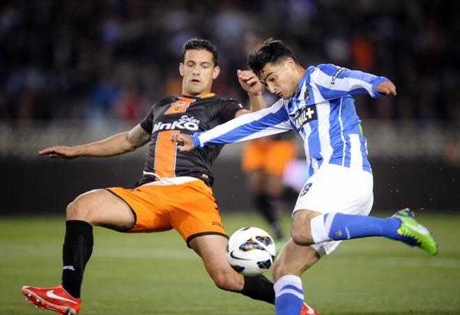 Real Sociedad Valencia Liga BBVA quiniela San Sebastián