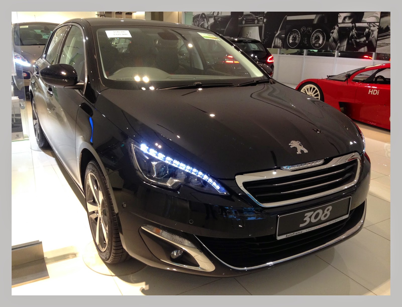 shaun owyeong peugeot 308 introduction test drive event. Black Bedroom Furniture Sets. Home Design Ideas