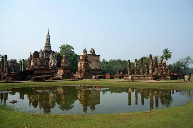 Sukhothai-thailande
